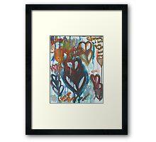 Valentine's Gift to Simon Framed Print