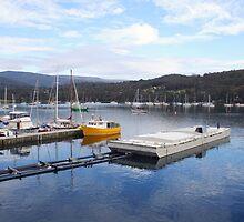 Marina at Kettering, Tasmania, Australia by Deb22