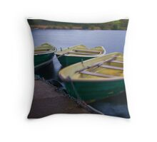 Choppy Water Throw Pillow