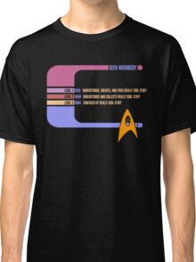 Geek Hierarchy Classic T-Shirt
