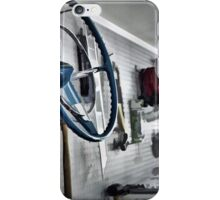 Garage Wall iPhone Case/Skin