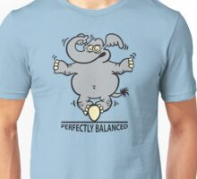 Balanced Elephant Unisex T-Shirt