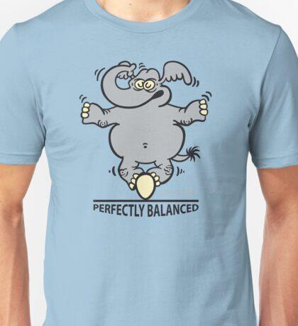 Balanced Elephant Unisex T-Shirt