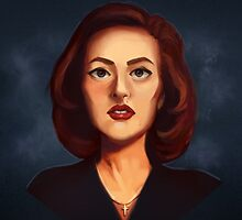 Dana Scully by MuffinPines