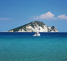 Marathonissi island /Greece/ by kuma-x