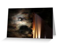 The Night Tower - The Elan, Kings Cross, Sydney, Australia Greeting Card