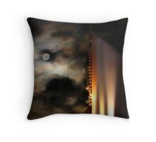The Night Tower - The Elan, Kings Cross, Sydney, Australia Throw Pillow