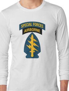 Special Forces Airborne Long Sleeve T-Shirt