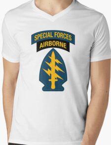 Special Forces Airborne Mens V-Neck T-Shirt