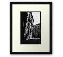 Catania Framed Print