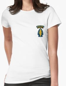 Special Forces Airborne (sm) Womens Fitted T-Shirt