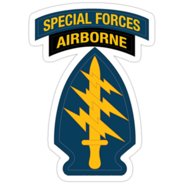 Special Forces Airborne (sm) by Walter Colvin