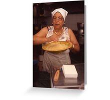 couscous lady mazzara del vallo Greeting Card