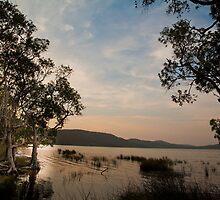Sunset on Smith's Lake by Alexander Meysztowicz-Howen