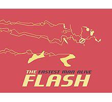 The Flash - Retro Photographic Print