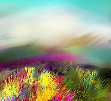 BURST OF JOY  by Frances Perea