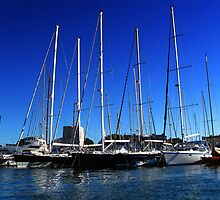Jachts In Port Grimaud /France/ by kuma-x
