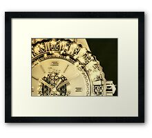 Dior Time Framed Print