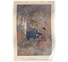 Fairy book Fairy Tales of the Allied Nations - 1917 - Edmund Dulac - 0097 - The Hind of the Wood Poster