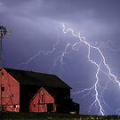 farm lightning 2 by Don Cox