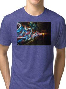 Dark Street Art Tri-blend T-Shirt