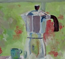 The silver percolator by Miles Histand