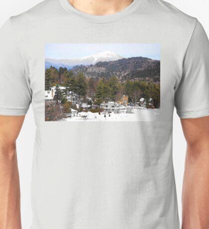 Mirror Lake Inn, Village of Lake Placid NY > Unisex T-Shirt