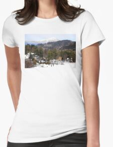 Mirror Lake Inn, Village of Lake Placid NY > Womens Fitted T-Shirt