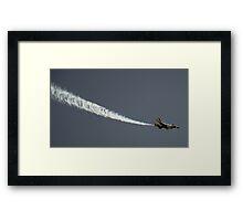 Shoot Across The Sky! Framed Print