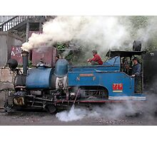India - Darjeeling - Toy train Photographic Print