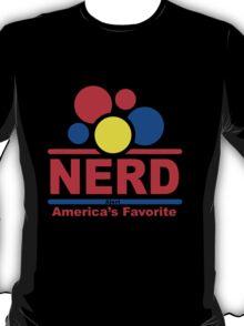 nerd alert black T-Shirt