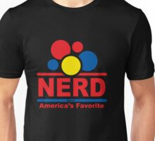 nerd alert black Unisex T-Shirt