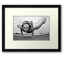Yoga Strength Framed Print