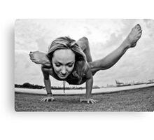 Yoga Strength Canvas Print