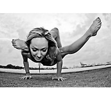 Yoga Strength Photographic Print