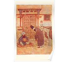 Stories from the Arabian Nights - 1907 - Edmund Dulac - 0113 - A Conversation Poster