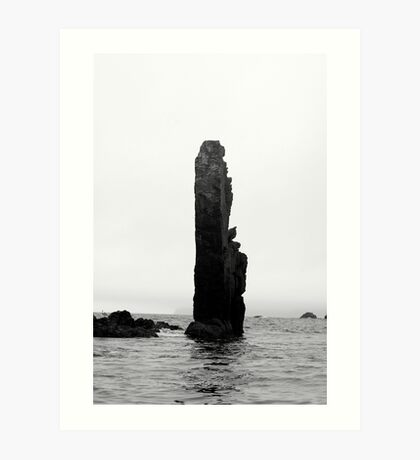 Lone Rock  Art Print