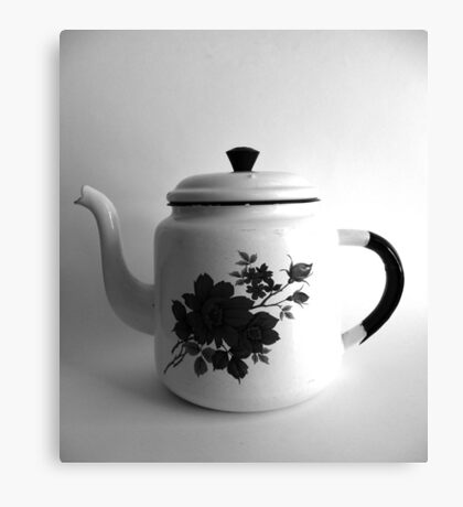 The teapot Canvas Print