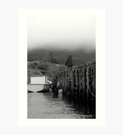 Log Pier Art Print