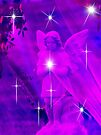 A Sprinkle of Stars For Christmas Angel by Marie Sharp