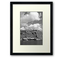 Shipping Shore Framed Print