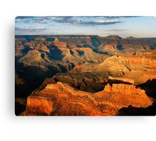 Grand Canyon Afternoon Canvas Print