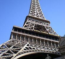 EIFFEL TOWER RESTAURANT - LAS VEGAS by ANNIESUNSHINE