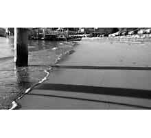 Under the Boardwalk Photographic Print