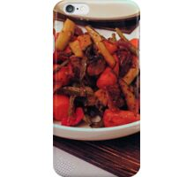 Roast Garden Vegetables with Mustard and Honey iPhone Case/Skin
