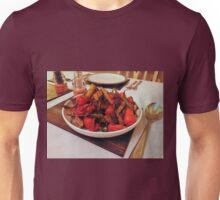 Roast Garden Vegetables with Mustard and Honey Unisex T-Shirt