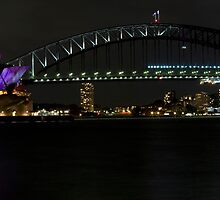Sydney Opera House in colour by Coriena