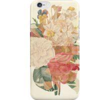 Vintage Floral Print Design.  iPhone Case/Skin