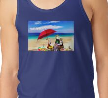 Sunday on the Beach Tank Top