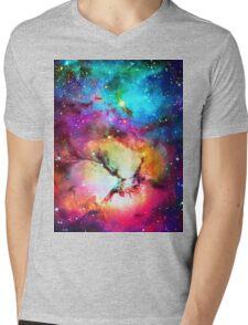 Nebula galaxy 7 Mens V-Neck T-Shirt